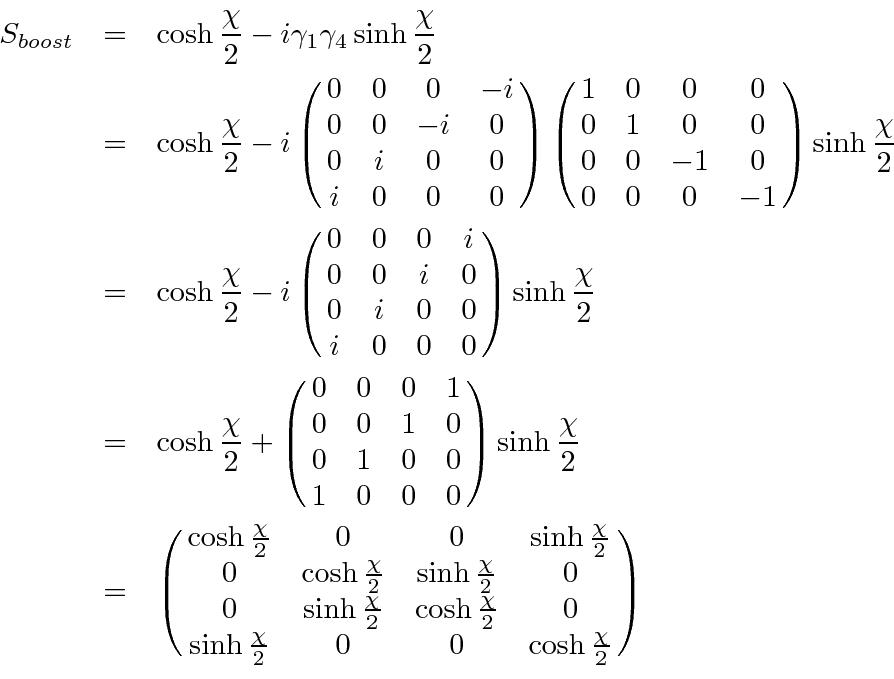 relativistic covariance