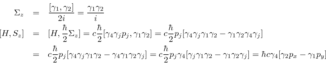 Constants of the Motion for a Free Particle